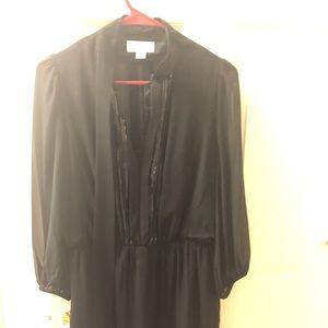 Jessica Simpson formal black dress